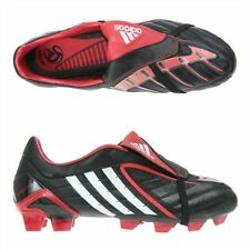 Adidas Predator Powerswerve TRX FG Black/white/Red Mens size 7
