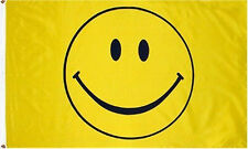 3x5 Smile Smiley Face Happy Face Flag 3'x5' Banner Brass Grommets