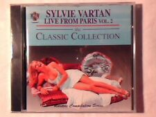 SYLVIE VARTAN Live from Paris vol. 2 cd SIGILLATO SEALED!!!