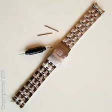 New Tissot Stainless steel Strap Watchband for T461 T014417A T171186A 19mm