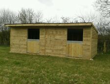 12x24 mobile field shelter/stable