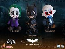 Hot Toys Cosbaby Batman Begins The Dark Knight set of 3 Joker