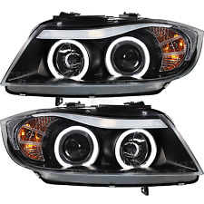 Scheinwerfer Set BMW 3er E90 E91 CCFL Angel Eyes Limousine Touring Bj. 05-08