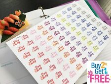 """PP240 -- Small """"Pay Day"""" Life Planner Stickers for Erin Condren (80pcs)"""