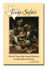 Texas Safari: World Class Big Game Hunting in the State of Texas HB 1987  W6