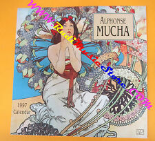 CALENDARIO CALENDAR ALPHONSE MUCHA 1997 GRAPHIQUE DE FRANCE no cd dvd lp mc