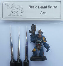 Paint Brushes Set for Revell models