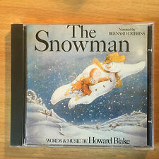 """THE SNOWMAN""-HOWARD BLAKE-BERNARD CRIBBINS-CHILDREN'S SOUNDTRACK-BRAND NEW CD"