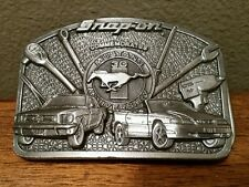 Snap On Tools Ford Mustang 30th Anniversary Belt Buckle Collector's Item
