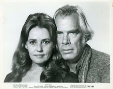 LEE MARVIN  JEANNE MOREAU MONTE WALSH 1970 VINTAGE PHOTO ORIGINAL #1
