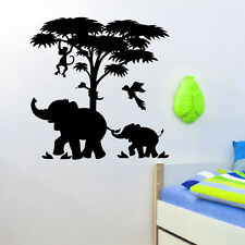 WALL DECAL VINYL STICKER ANIMAL AFRICA SAFARI LANDSCAPE BABY ROOM DECOR SB793