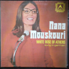 NANA MOUSKOURI - WHITE ROSE OF ATHENS SUNG IN GERMAN VINYL LP AUSTRALIA