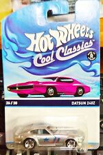 2015 Hot Wheels Cool Classics Datsun 240Z Pink Card L Case In Stock