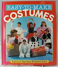 Easy to Make Costumes Book 46 Kids Halloween Christmas Holiday Theater Play 1992