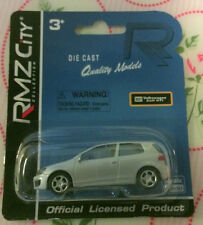 MOSC Die-cast 1:64 RMZ City - Silver VW Golf GTi (Detailed lights & Rims)