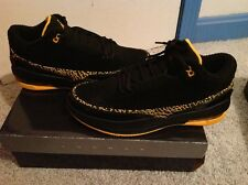 JORDAN 2.5 TEAM 58TH MEN ATHLETIC SHOE 10.5 MULTI-COLOR(BLACK/TAXI) SUEDE