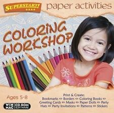 Paper Activities Coloring Workshop 100 different projects that spark imagination