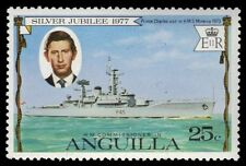 "ANGUILLA 271 (SG269) - Silver Jubilee ""Prince Charles and Minerva"" (pf83183)"