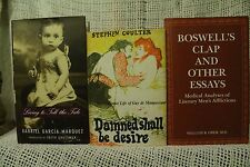 lot 3 biography Boswell's Clap and other essays Medical Guy De Maupassant
