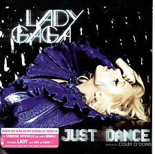 CD single Lady GAGA Just Dance 3-track CARD SLEEVE GLAM AS YOU FR VERY RARE