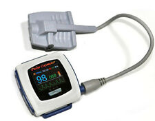 Color OLED Wrist Fingertip Pulse Oximeter with Software - Spo2 Monitor