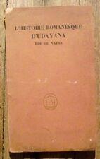 L'histoire romanesque d'Udayana, roi de Vasta,Lacote,1924,bois gravés Buhot