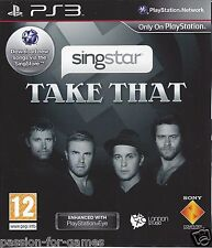 SINGSTAR TAKE THAT for Playstation 3 PS3