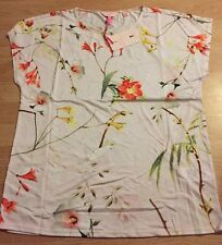 Ted Baker Botanical Bloom Floral Top Tee T-shirt BNWT ❤️ CEKEK SIZE 2 10/12 SALE
