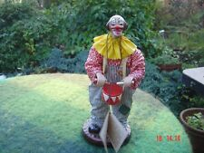 Sanguiliano Arte (hand made in Italy) Clown Ornament with Drum