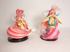 "Free Shipping One Piece Shirahoshi 3"" Figure 2pcs Authentic Bandai Japan k#14195"