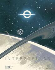 INTERSTELLAR 12x16 Original Promo Movie Poster 2014 AMC IMAX Christopher Nolan B