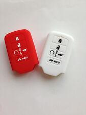 2pcs Fob Remote Key Case Cover Holder Keyless for 2015 Honda Accord Pilot Civic