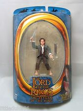 Lord of the Rings PROLOGUE BILBO BAGGINS ToyBiz Figure MOSC Hobbit Blue Moonbox