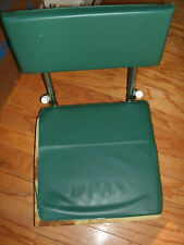 VINTAGE FISHING BOAT FOLDING PORTABLE CHAIR Green and White