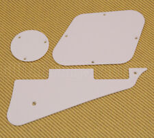 LPKIT-W White Accessory Kit Back Plate Cavity Cover & Pickguard Les Paul® Guitar