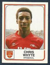 PANINI FOOTBALL 84-#011-ARSENAL-CHRIS WHYTE
