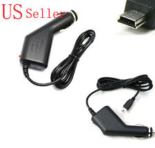 24/12V Car Charger/Adapter Power cable for TomTom GPS GO/ONE 5V 1.5A/1A Mini USB