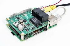 Raspberry Pi B+, Pi2, Pi3 compatible PoE (Power over Ethernet) Board