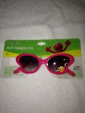 Sesame Street girls kids sunglasses ages 3 and up beach wear NEW
