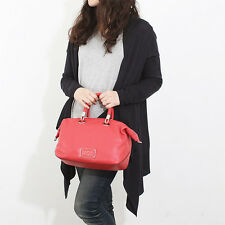 NWT $398 MARC Jacobs Too Hot To Handle Satchel Shoulder Crossbody Bag RED Silver