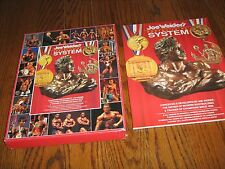 Joe Weider Bodybuilding  Muscle System Box Set with catalog and 9 wall charts