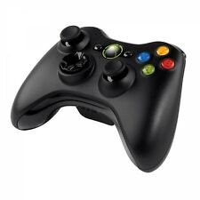 MICROSOFT XBOX 360 Controller Wireless per PC Windows Nero Nuovo di Zecca