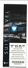 2013 SWEDISH HOUSE MAFIA BARCLAYS CENTER SUITE LEVEL TICKET STUB 3/4/13