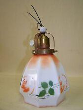 Bella vecchio Art Deco,Lampada sospensione Lampada da cucina Rose Motivo,lampada