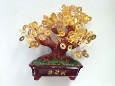 FENG SHUI BRASS GOLD GOOD LUCK I-CHING COINS MONEY TREE