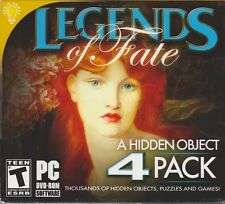 Legends Of Fate 4 PC Games Windows 10 8 7 Vista XP Computer Pack hidden object