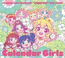 STAR ANIS Data Carddass Aikatsu Best Album Calendar Girls JP 2CD LACA-9350 New