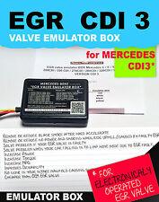 EGR valve emulator BOX Mercedes C / E / S / ML / 220 CDI / 270CDI / 320CDI CDI3