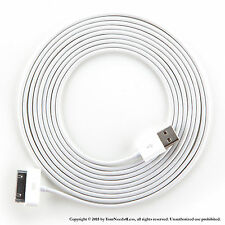 3 x 10ft White Data Sync Charging cable for iPhone 3 3g 3gs 4 4g 4s iPod touch