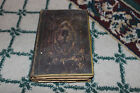 Antique German Hungarian Religious Bible Priest Book-1907 Bible-Christianity